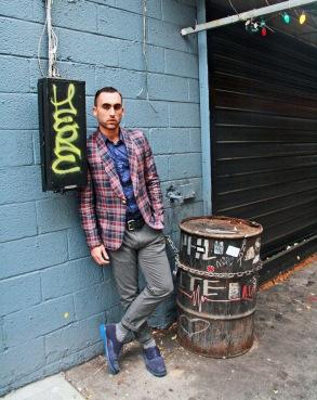 Blazer - Luigi Bianchi, Shirt -Topman, Pants - Zara, Shoes - Cole Haan