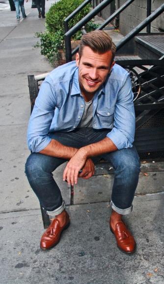 Patrick Smiling