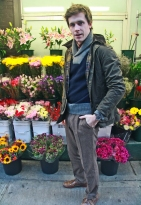 Coat - Barbour, Sweater - Gant by Michael Bastian, Pants - Gant by Michael Bastian, Shirt - Gant Rugger, Shoes -Rancourt
