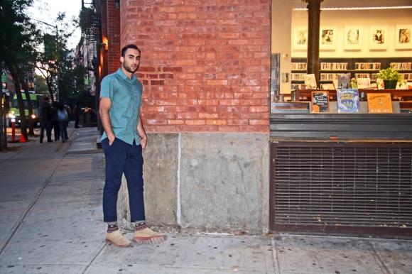 Man and Manhattan: David Spiro